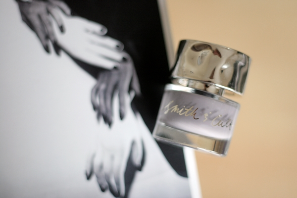 Smith & Cult Stockholm Syndrome nail polish.Background: Hands, Hands, Hands by Horst (1941)