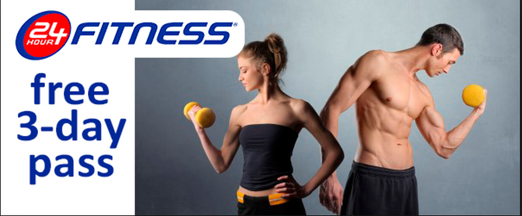 24-Hour Fitness - I've been an instructor at 24-Hour Fitness for over 14 years and LOVE the members! Click on the button below to get a 3-day pass to the club of your choice.