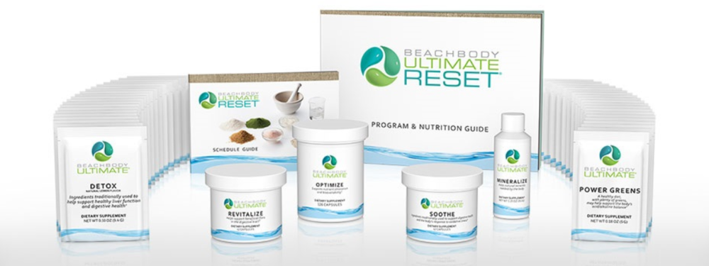 Ultimate Reset - Helps you feel invigorated, lose weight, and get back on track to better health in 21 days.