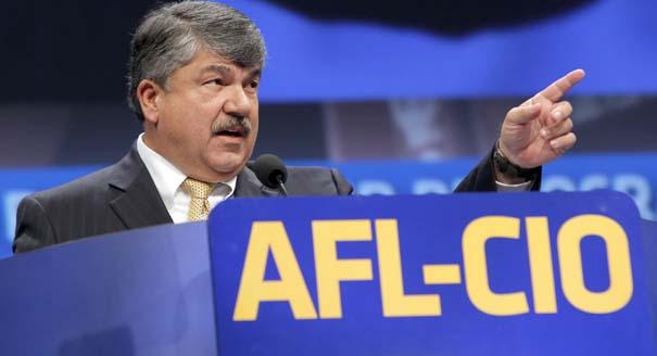 AFL-CIO President Richard Trumka Courtesy Associated Press