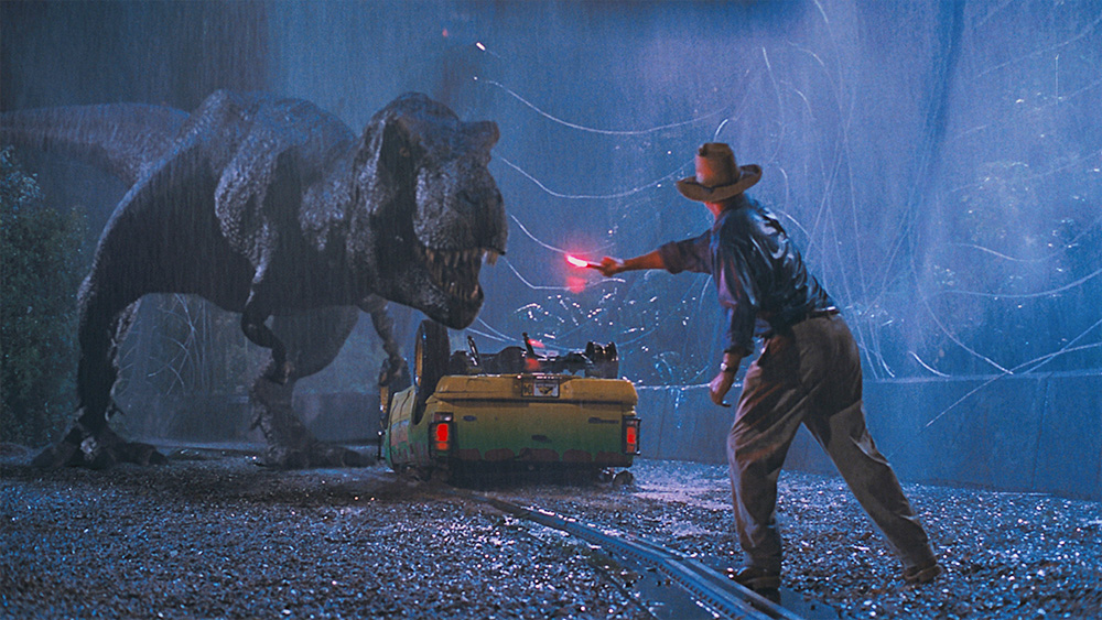 From Jurassic Park. Courtesy Universal Pictures
