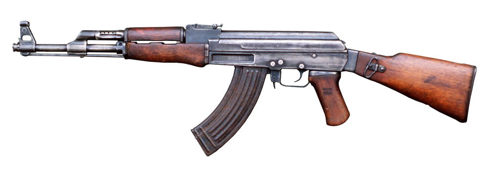 An AK-47 assault rifle. Courtesy Wikimedia