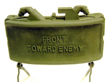 An M18 Claymore Mine