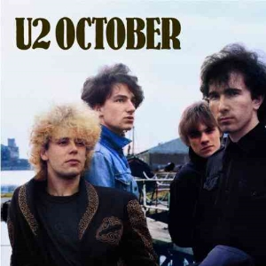 October/and the trees are stripped bare/of all they wear/October/and kingdoms rise and kingdoms fall...Courtesy Island Records