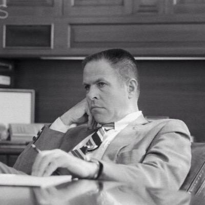 President Richard Nixon's Chief of Staff, HR Haldeman.