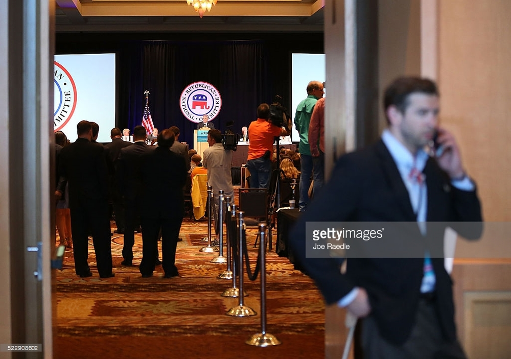 The RNC Spring Meeting in Hollywood, Florida.