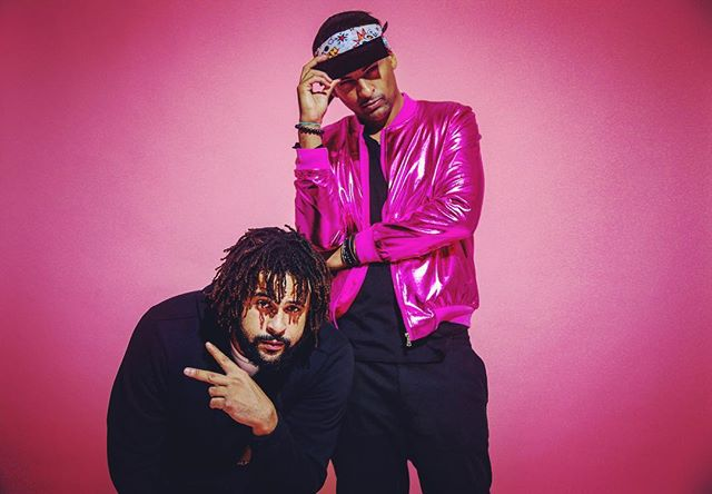 17 Years ago I met @jedijae first thing he asked me was if I make music... 17 years later we still here.  I don't forget.  WE GREW #pinkthingsmatter  #breastcancerawarenessmonth  #breastcancerawareness  12 :17 :17 G E N E S I S  The Ep Drops on @youtube 📸 @jedi_camm