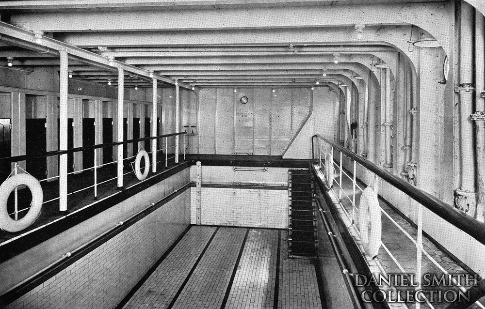 Olympic's pool.