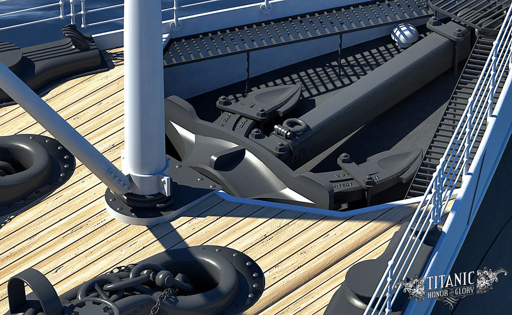 A rendering of the center anchor. Click to enlarge