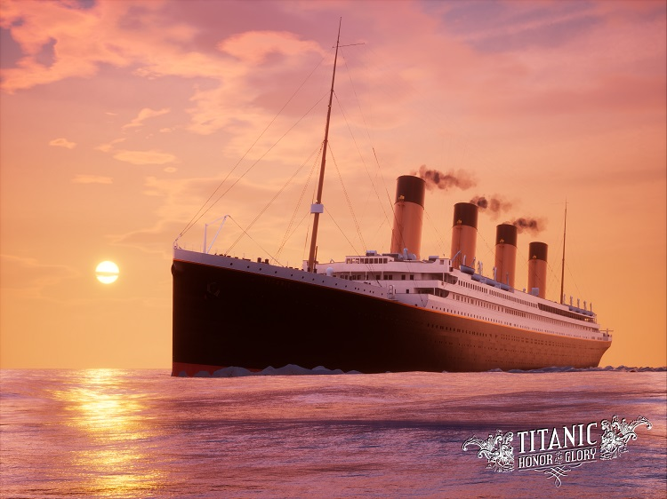 Titanic Sunrise Sailing (A) 15 units sold.
