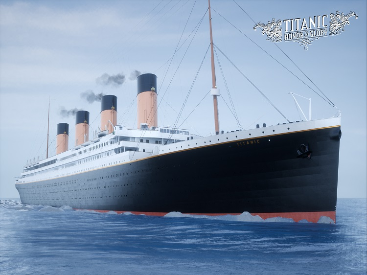 Titanic Daytime Sailing (A) 15 units sold.