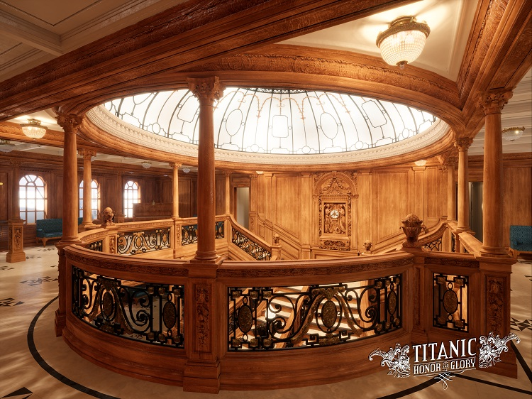 Boat Deck Grand Staircase (B) 15 units sold.