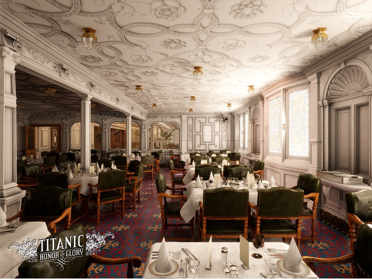 First Class Dining Saloon (A) 15 units sold.