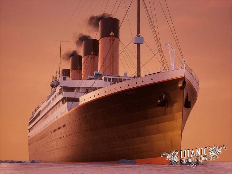 Titanic Sunrise Sailing (B) 20 units sold.