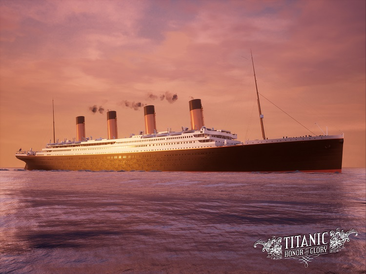 Titanic Sunrise Sailing (C) 20 units sold.