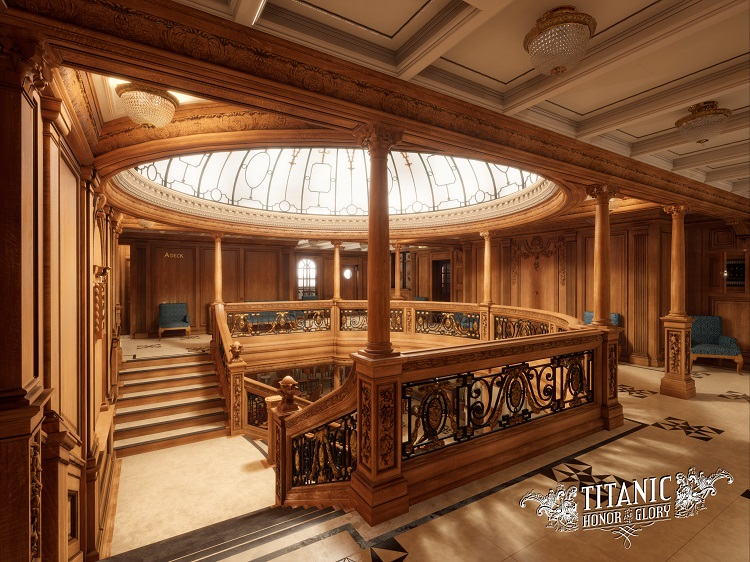 A Deck Aft Grand Staircase (A) 15 units sold.
