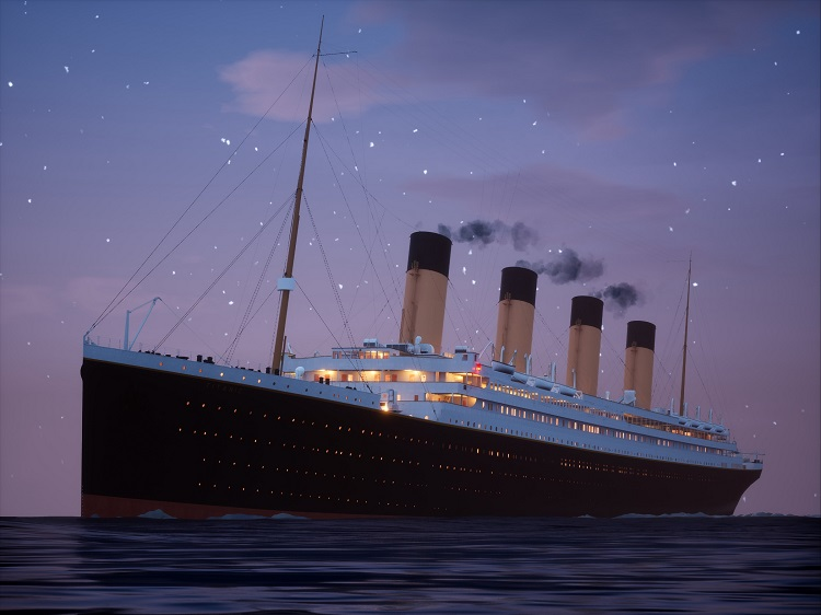Titanic Twilight Sailing (B) 25 units sold.