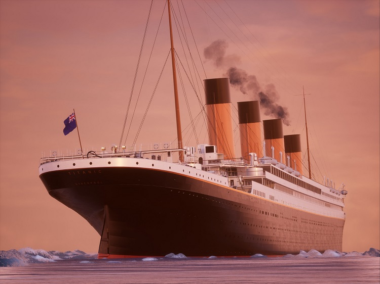 Titanic Sunrise Sailing (D) 25 units sold.