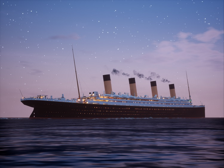Titanic Twilight Sailing (C) 30 units sold.