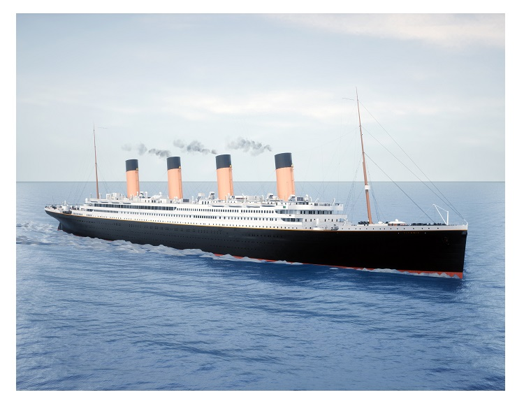 Titanic Daytime Sailing (C) 30 units sold.