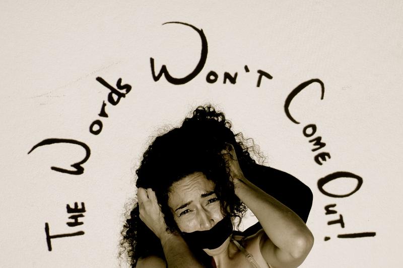 TheWordsWontComeOut