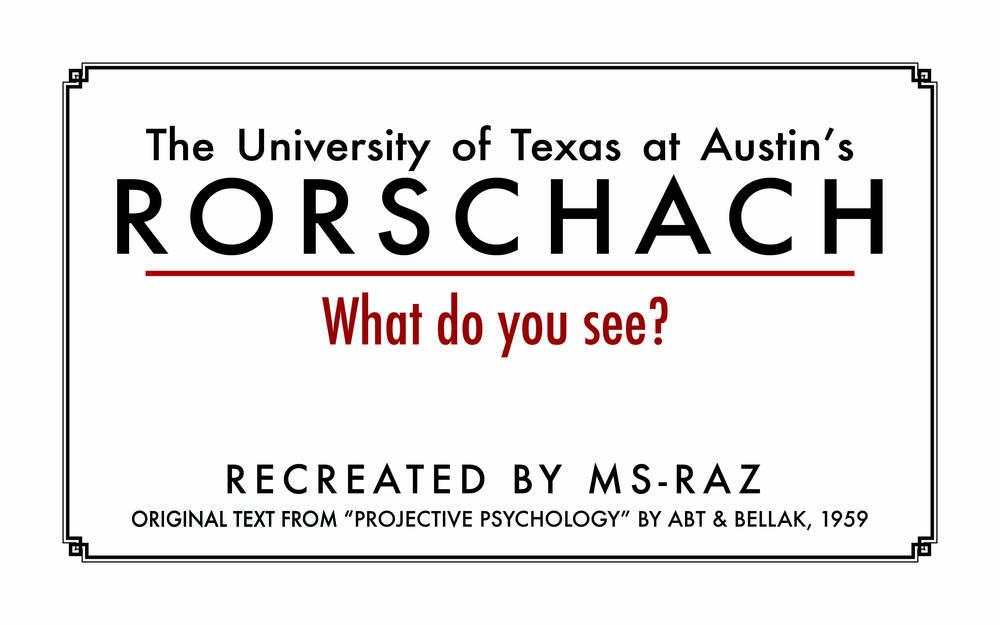 UT Rorschach