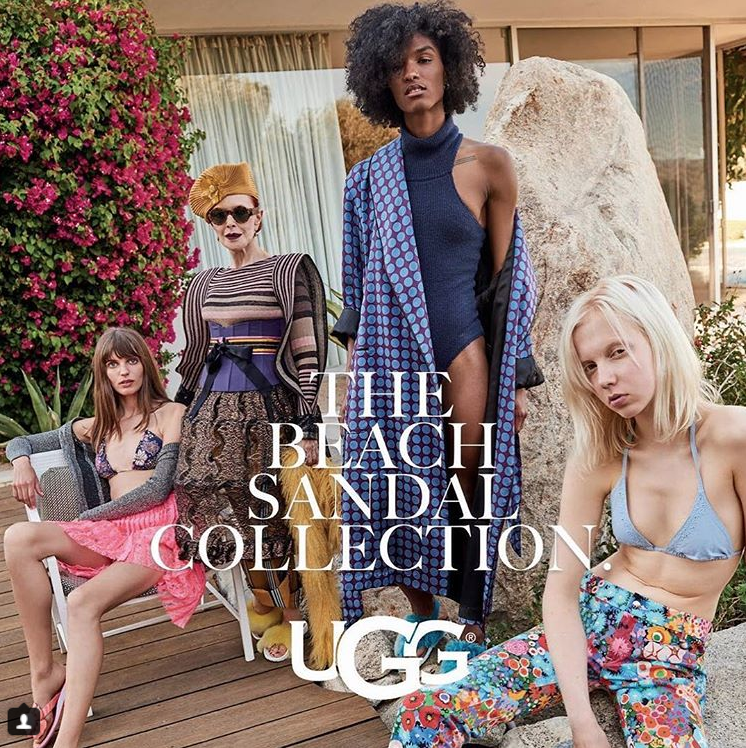 THE LATEST UGG CAMPAIGN BY PRO-HAIRSTYLIST GIO CAMPORA LENSED BY FREDERIC AUERBACH
