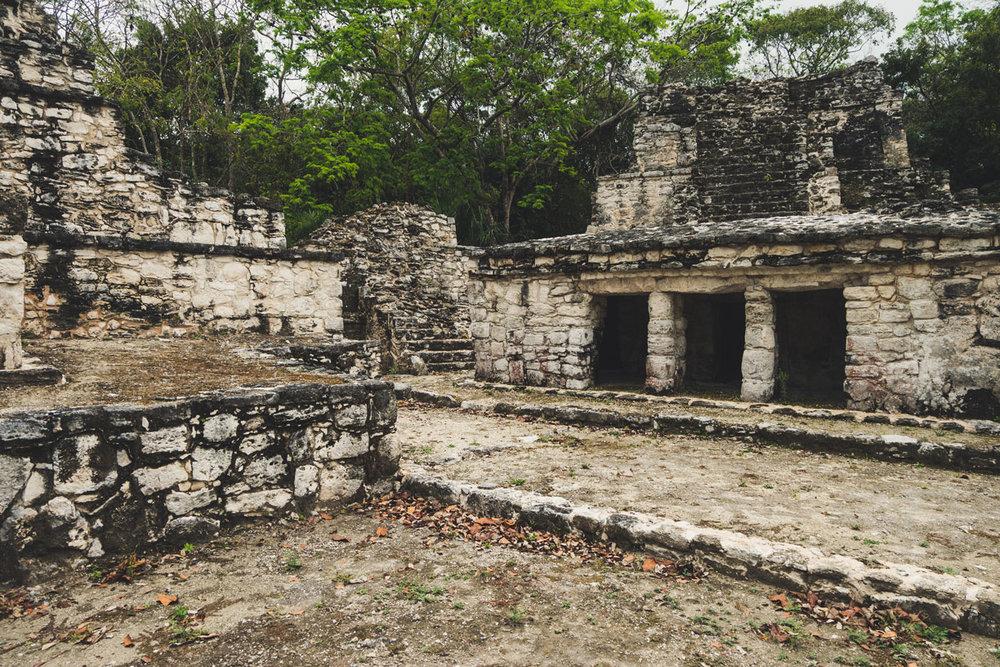 Muyil ruins.