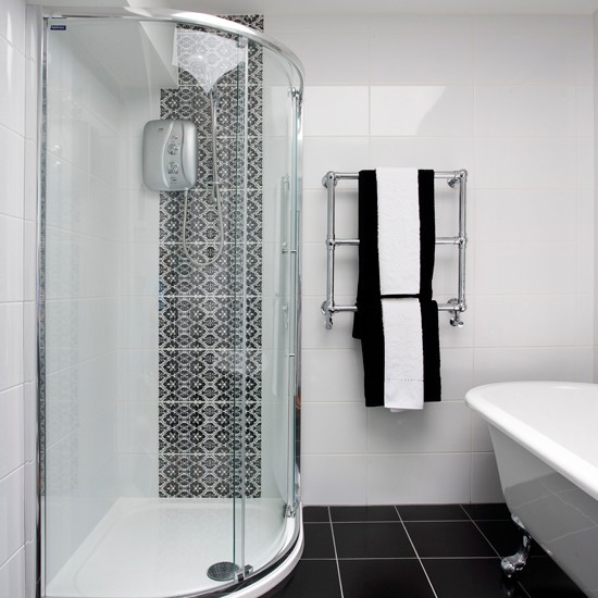 Black And White Modern Bathroom Ideal Home Housetohome.