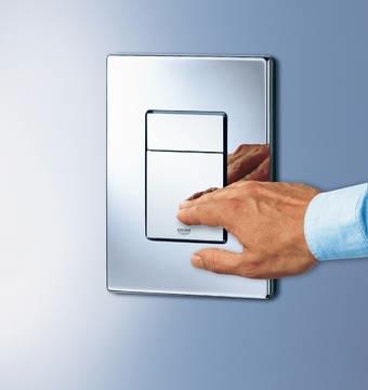Flush-buttons