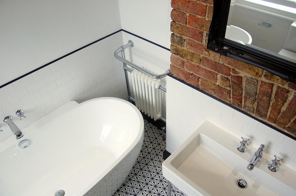 Bathroom in Hampton Fired Earth Roca Duravit Retreat Bathrooms Design - 2.jpg