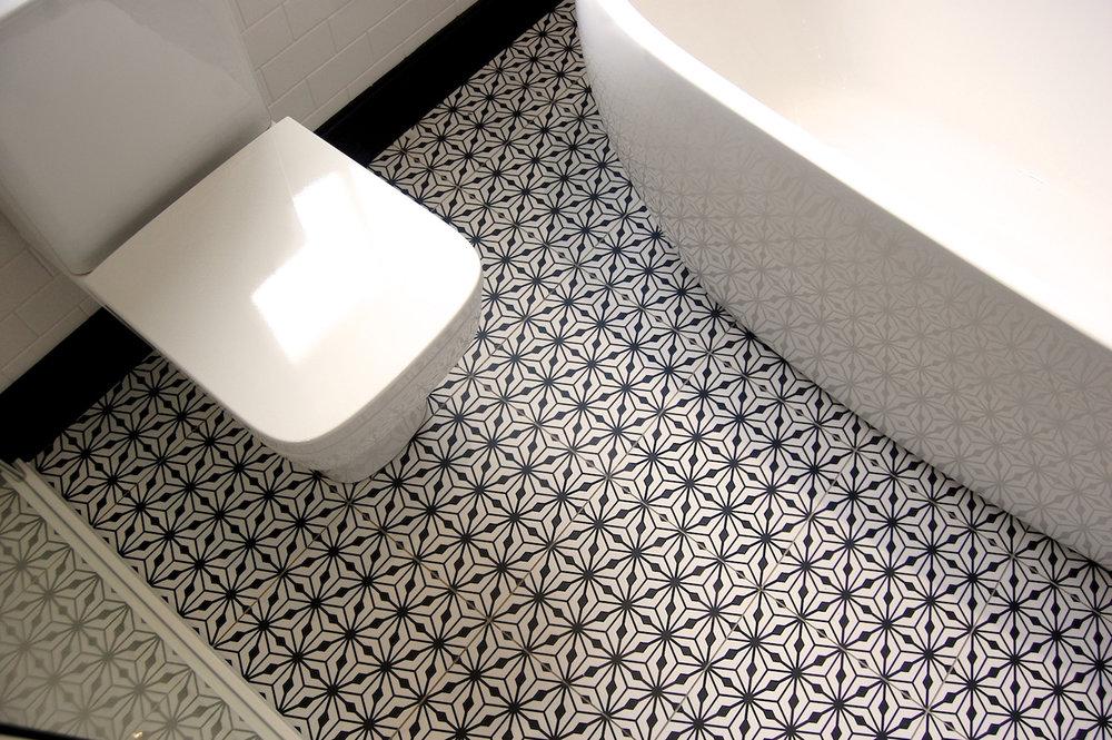 Bathroom in Hampton Fired Earth Roca Duravit Retreat Bathrooms Design - 11.jpg