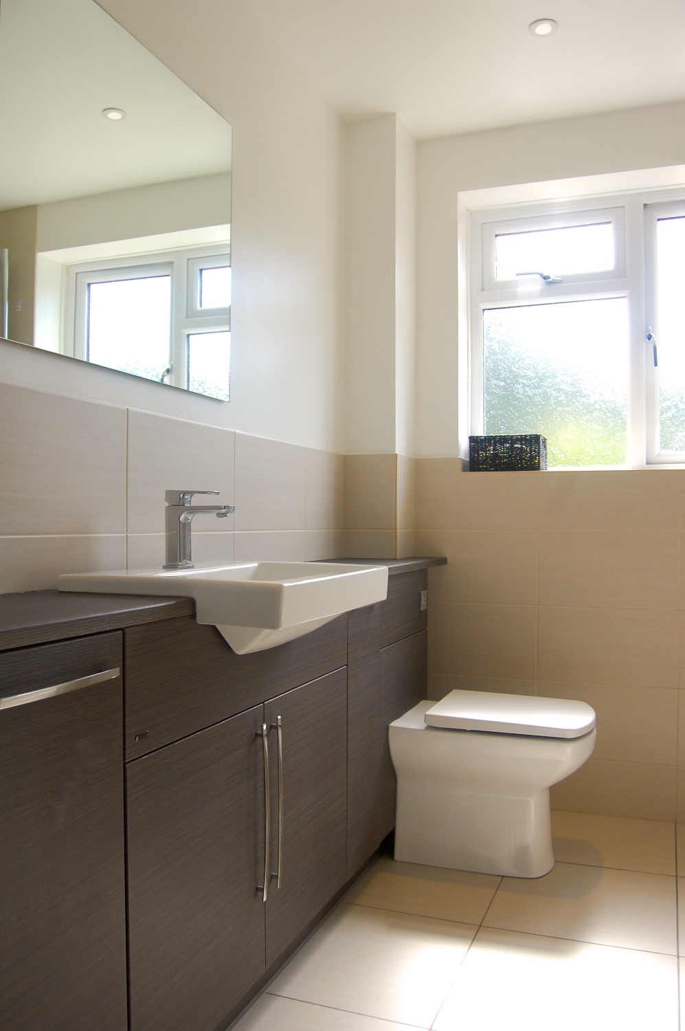 £8,200 - Family Bathroom with full wall of fitted furniture