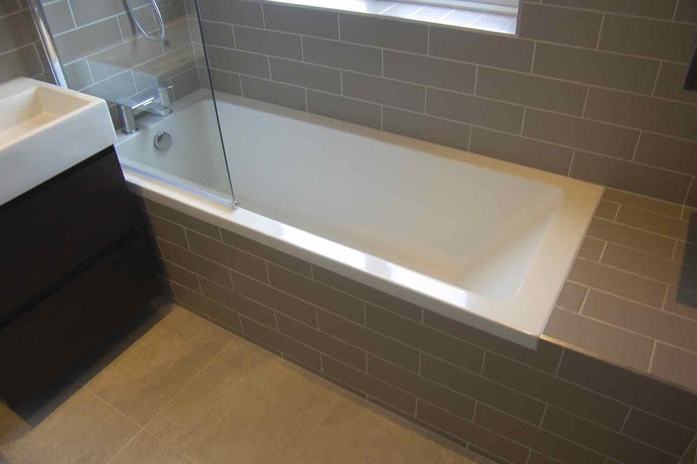Bathroom in Teddington Saneux Flova EuroTiles Retreat Bathrooms Design - 5.jpg