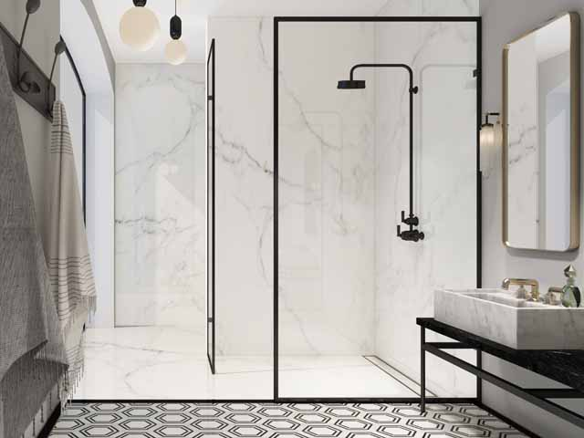 Majestic Shower Company Metalcraft Frame Bathroom Trends 2018.