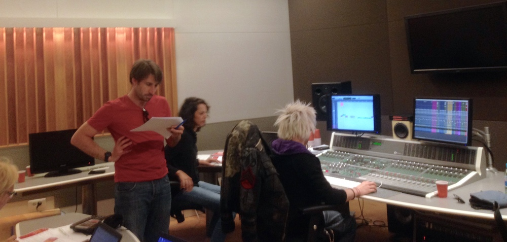 The Studio with the amazing team