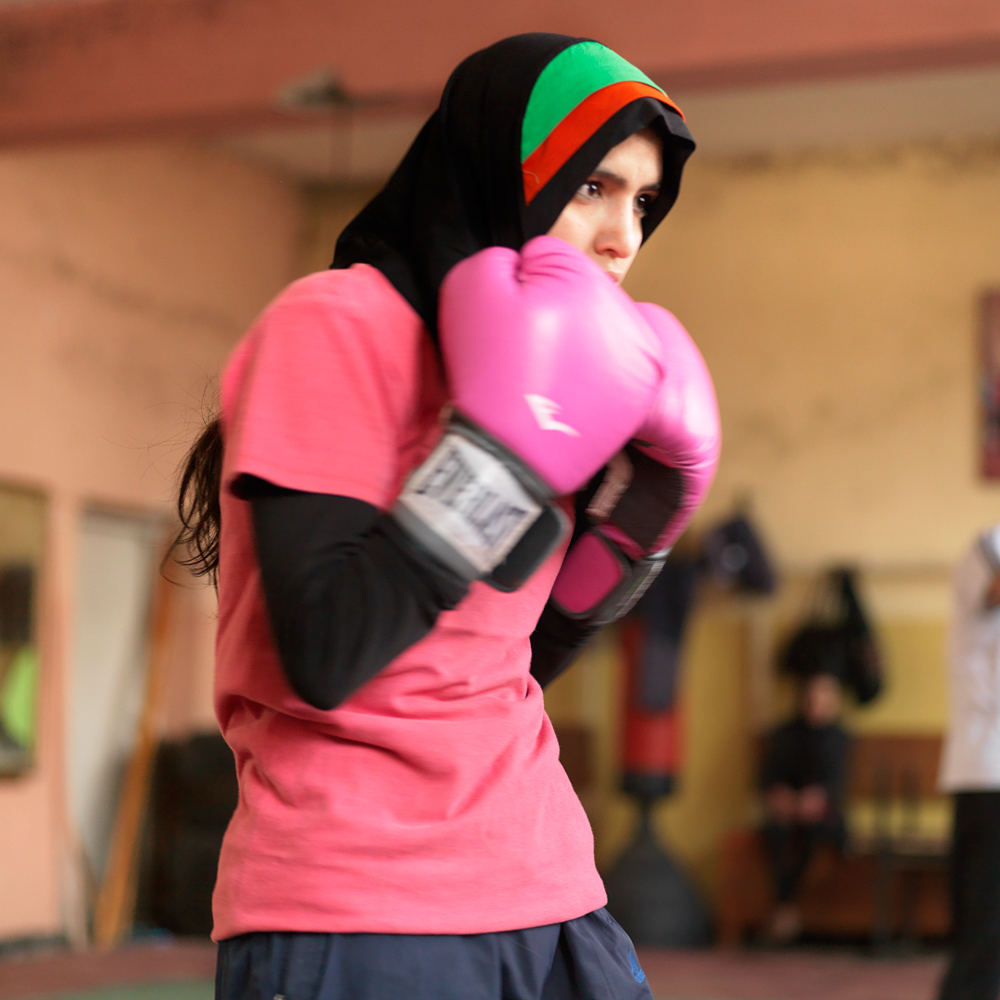 Favorite place of the city: Boxing school at Ghazi stadion.