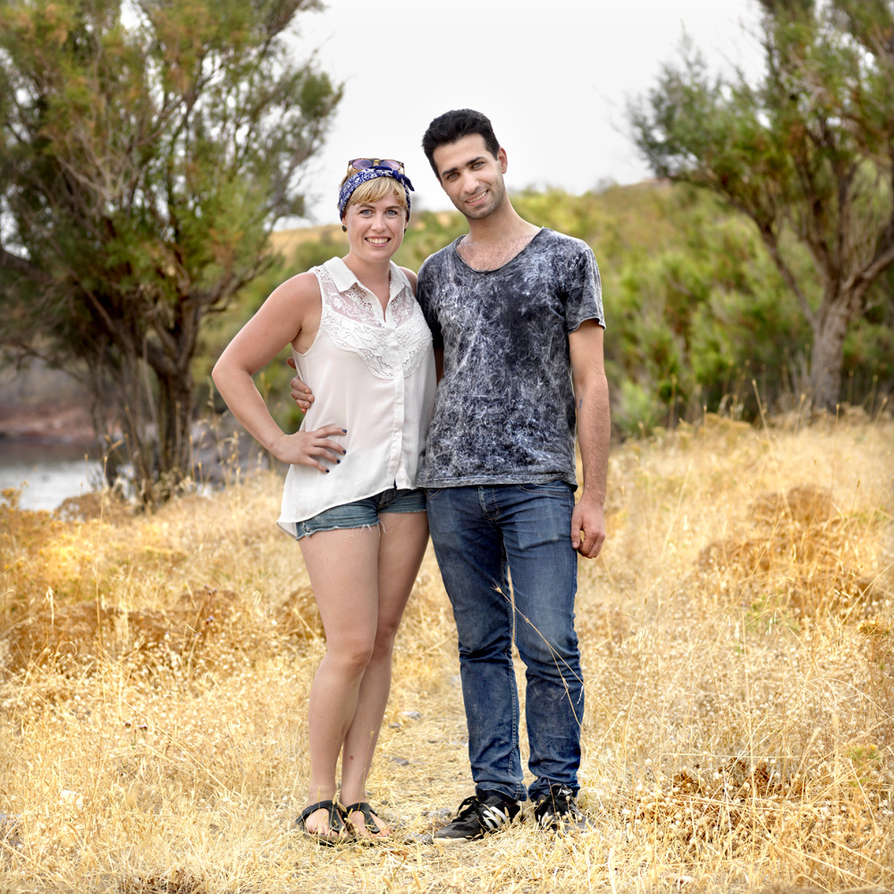 Husam (26), Lawyer from Damascus, Syria  Selma (24), Medical Student from Hannover, Germany