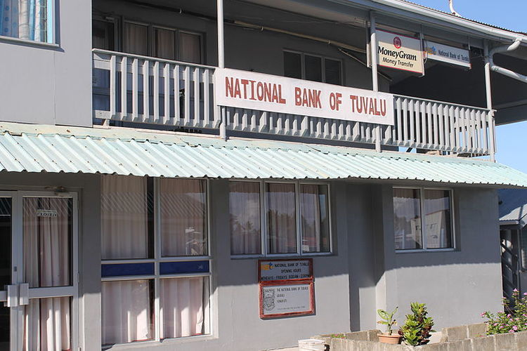 National Bank of Tuvalu in Funafuti. Photo Credit: lirneasia (cc-by-2.0)