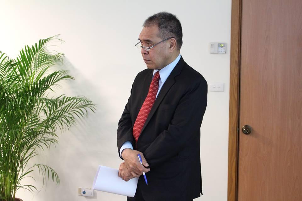 H.E. Ambassador Minute Alapati Taupo/陶敏德大使