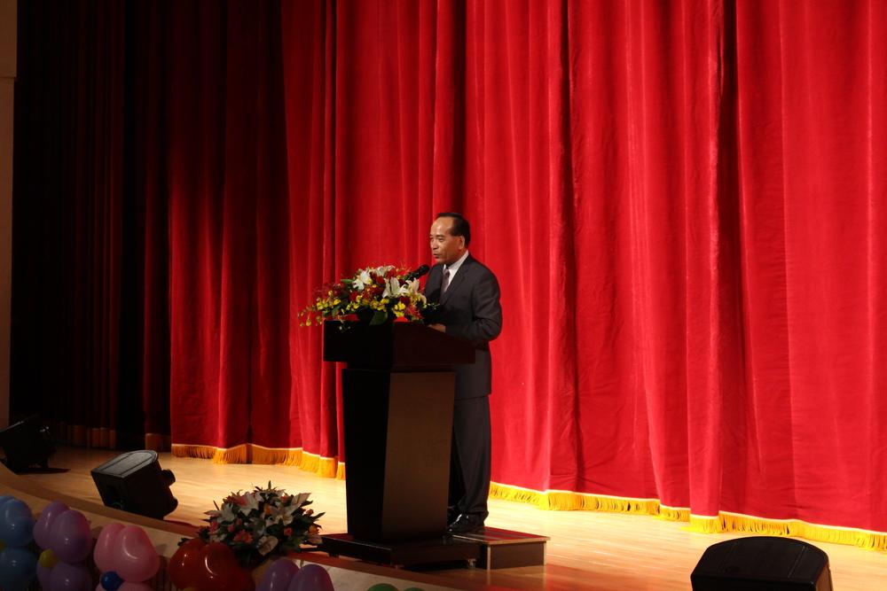Chairman Huang Jin-Yuan (Cyuanhua Temple Association)/財團法人苗栗縣南庄鄉獅山勸化堂董事長黃錦源