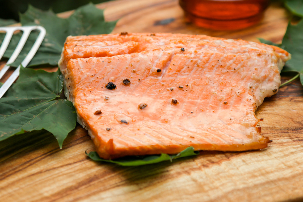 The hungry hounds maple juniper smoked salmon fish cookery and smoked foods dont have to be labor intensive and intimidating our recipe for maple juniper smoked salmon uses a simple native american forumfinder Choice Image