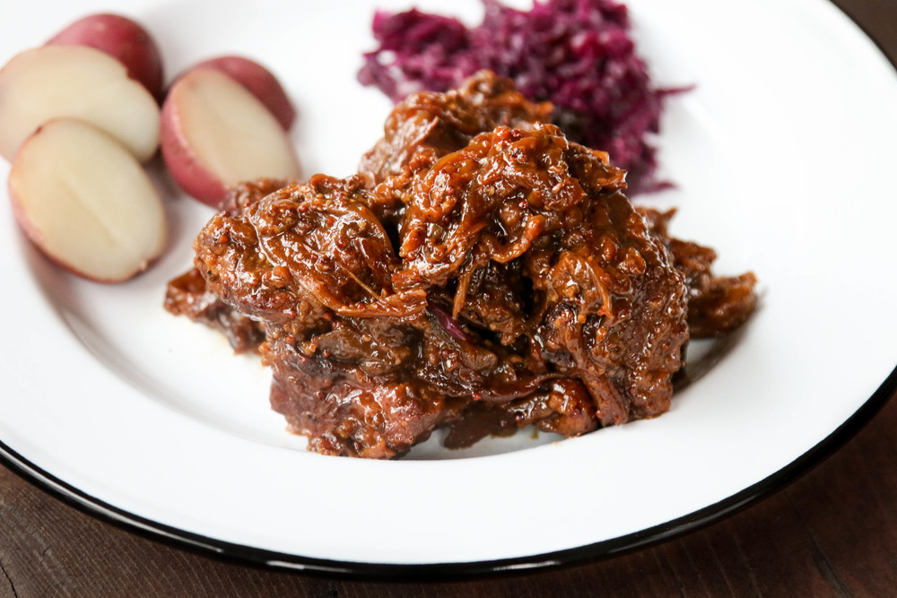 ... Hounds— Flemish Beer Braised Beef & Onions, Carbonnade de Boeuf
