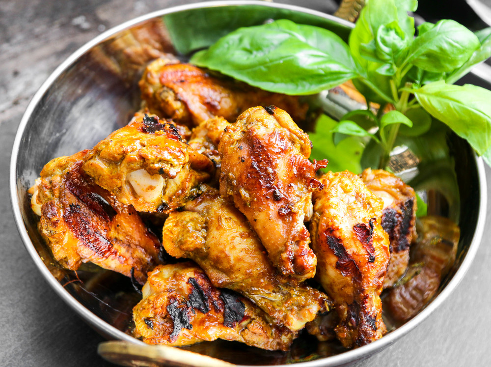 The Hungry Hounds Quick Thai Curry Drumsticks
