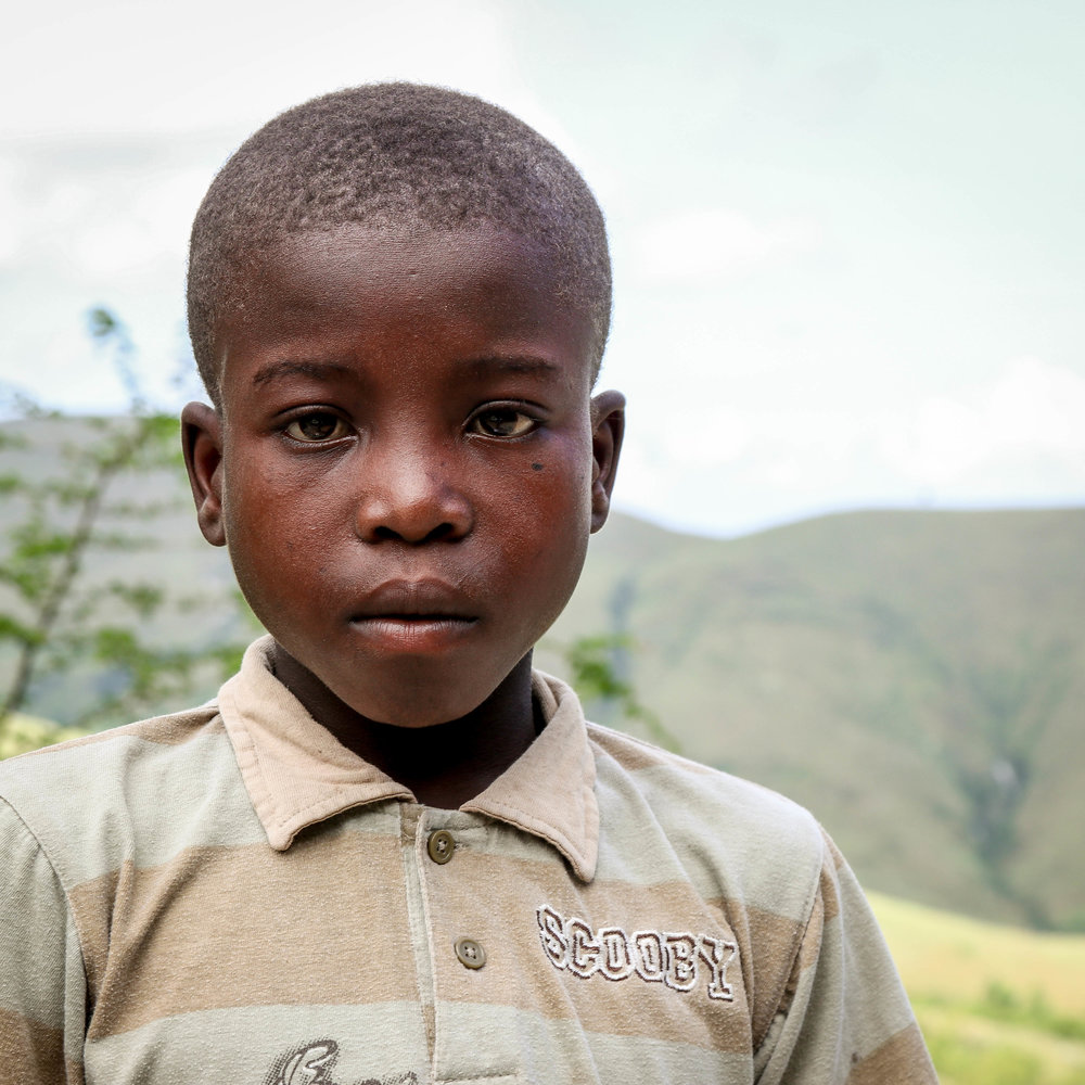 Oudle Polais, 11 years old -- Chariye, Haiti