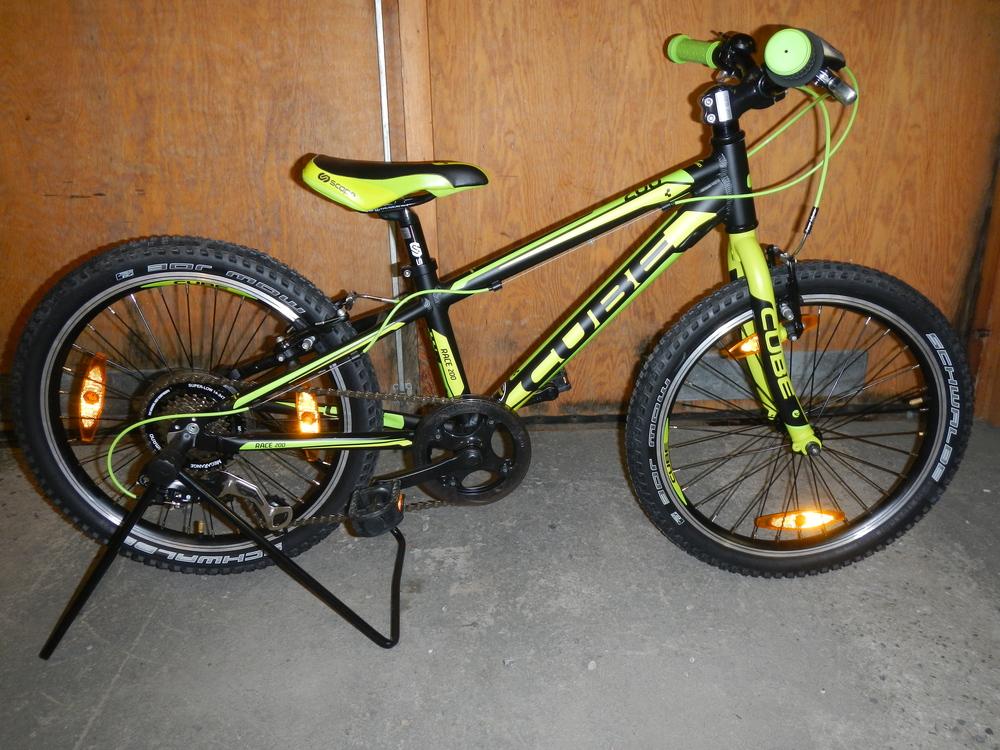 Nya schwalbe Mow Joe monterade = Cykeln blev 0,6 kilo lättare
