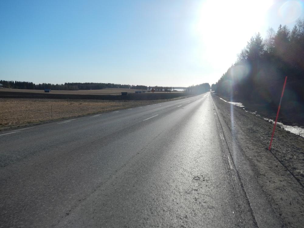 På väg in mot Piteå