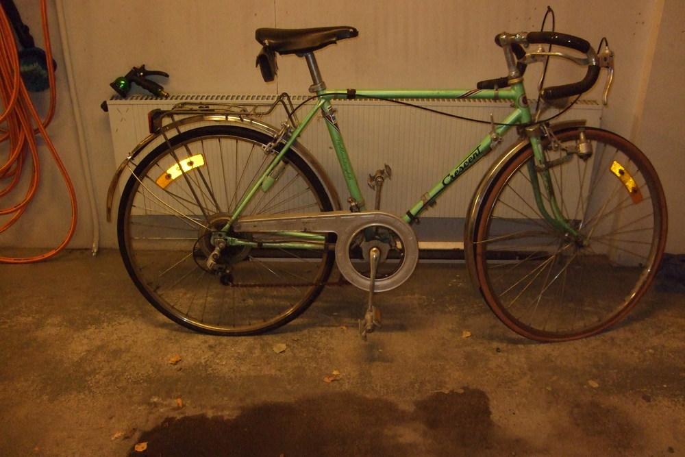 Cykel som jag fick vid i mina tidiga tonår. Skall nu bli singelspeed.
