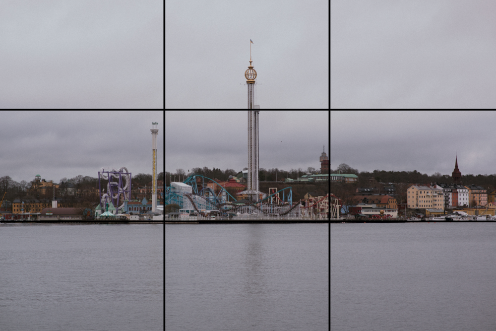 Oslo, an example of Rule of Thirds