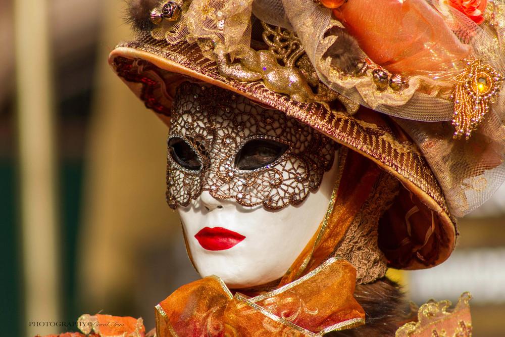 Lady in orange